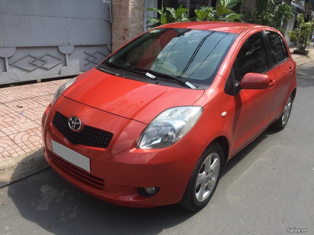 Cần bán nhanh xe Toyota Yaris sx 2010 màu cam vàng nhập khẩu xe kỹ mới