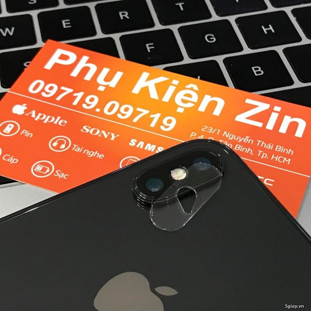 Kính cường lực Full màn hình iPhone X - Kính bảo vệ Camera iPhone X.