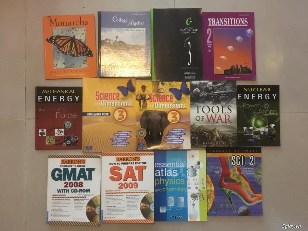 Cần bán: Sách giáo khoa cấp 2 bằng tiếng Anh