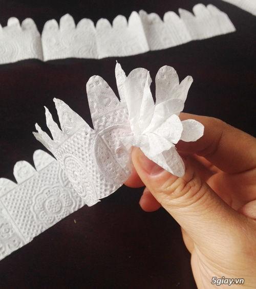 Bình hoa tuyệt đẹp bằng khăn giấy - 210931