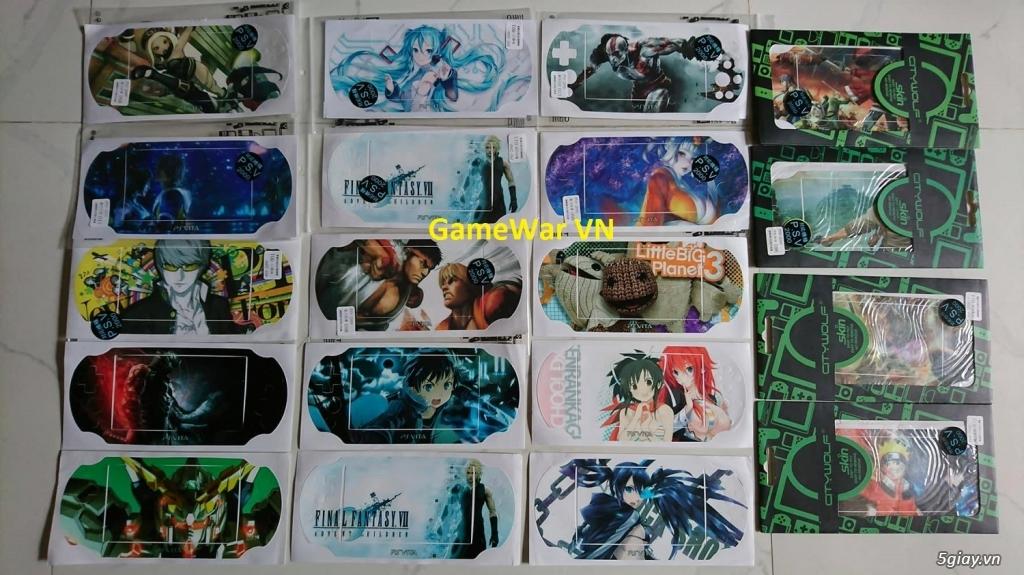 [GameWar VN] Máy PS4 - Đĩa Game PS4 + PS Vita - 10