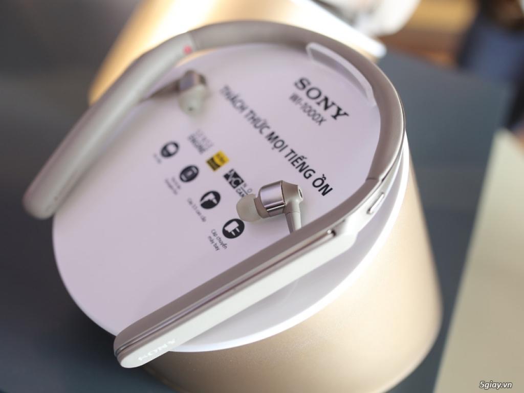 Ra mắt loạt tai nghe cao cấp chống ồn 1000X series của Sony - 211114