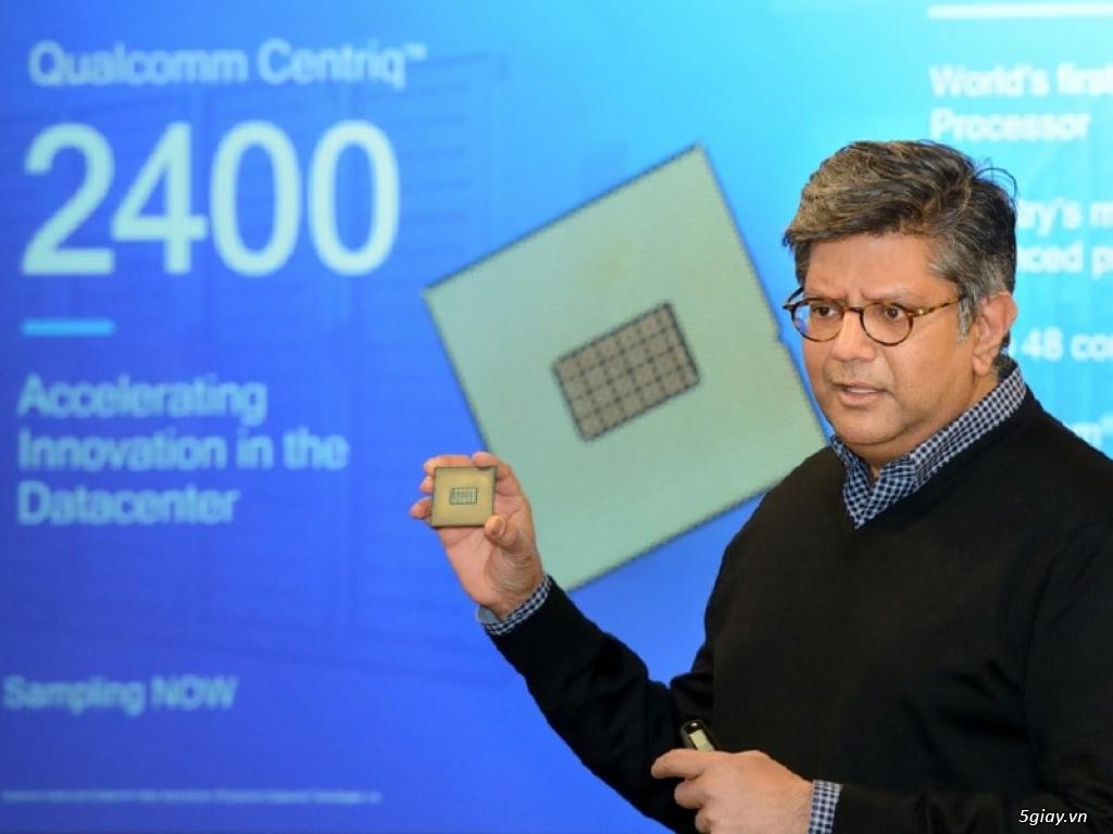 Qualcomm giới thiệu dòng vi xử lý Qualcomm Centriq 2400 nền tảng 10 nanomet - 211096