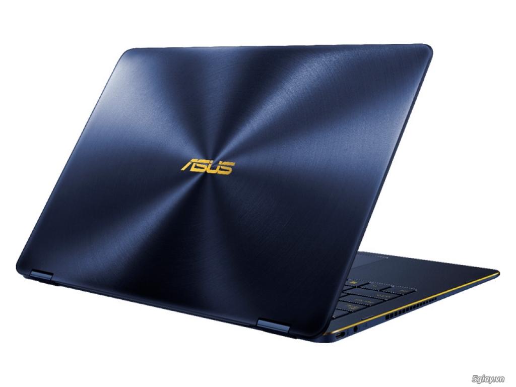 Asus ZenBook Flip S UX370 - Laptop gập xoay mỏng nhất thế giới