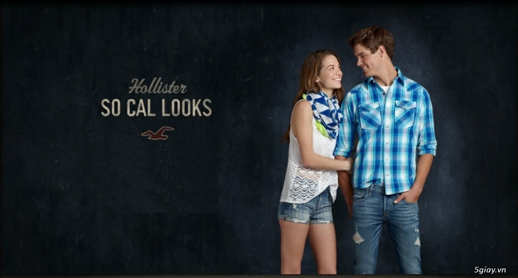 HCO shop chuyên hàng Hollister Abercrombie xách tay US chính hãng