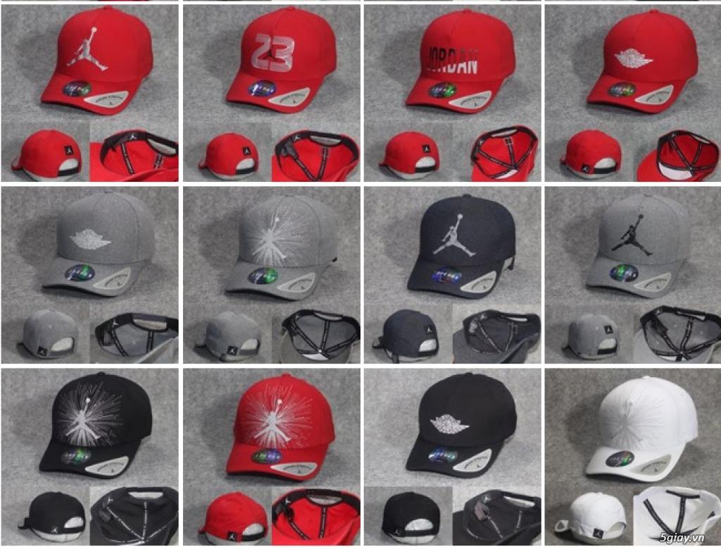 Mũ Nón Lưỡi Trai, Nón Kết Nike, Puma, adidas, reebok , columbia, jorda - 8