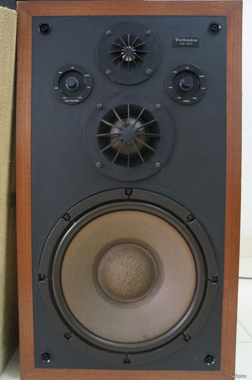 Loa siêu cổ Technics SB-501 Bass 30 nguyên bản - TP Hồ Chí Minh