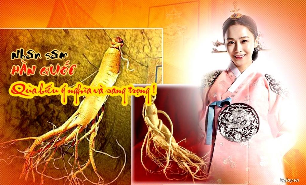 Siêu thị sâm Hàn Quốc. Quà tặng sức khỏe