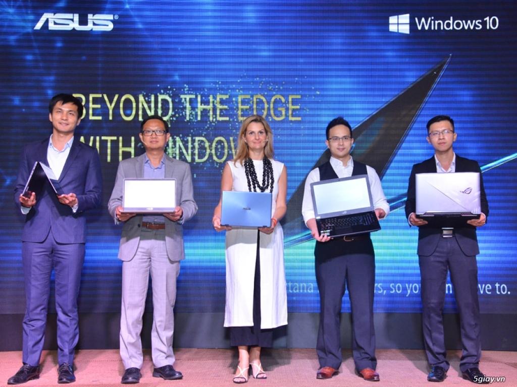 Toàn bộ laptop Asus tại Việt Nam sẽ tích hợp Windows 10 bản quyền