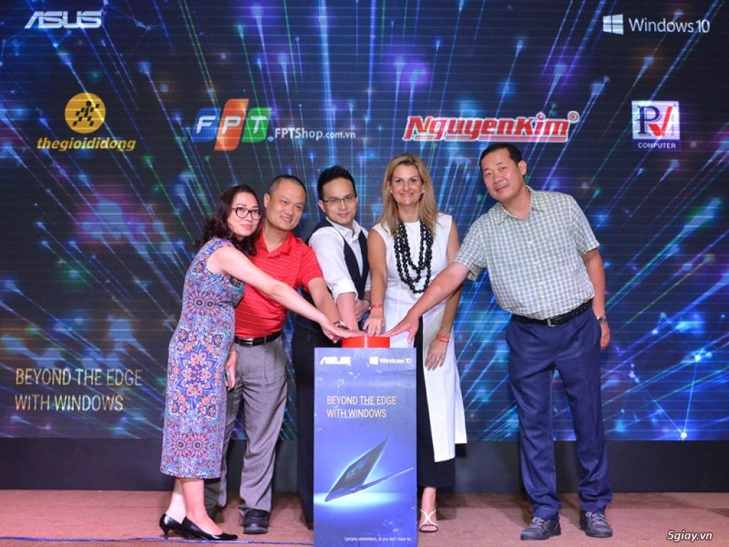 Toàn bộ laptop Asus tại Việt Nam sẽ tích hợp Windows 10 bản quyền - 211362