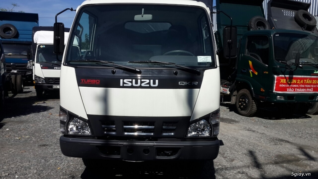 ISUZU QKR55H nâng tải 2,9 tấn hổ trợ vay 70% đến 85%