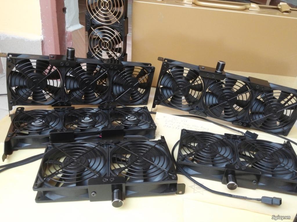 Hub Fan PWM, Backplate AMD 115x,775,1366clip 2011 gông, Ốc Đồ Mod Case - 7