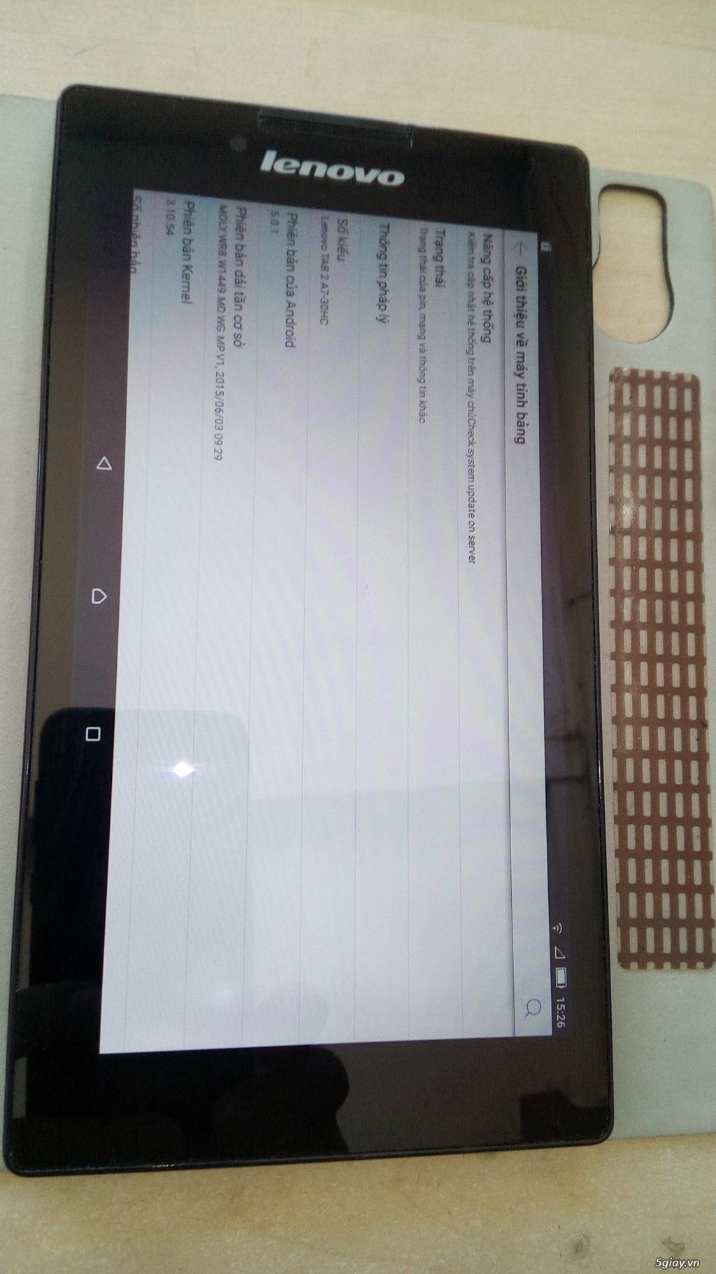 lenovo tab2 A7-30HC 3g wifi tốt 4 nhân