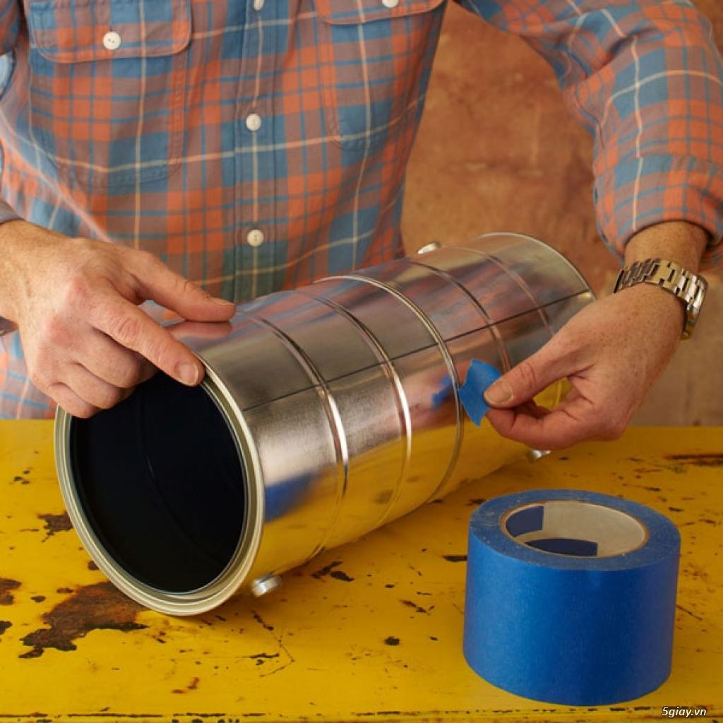 Cách làm đèn ống treo nhà sang chảnh - 211571
