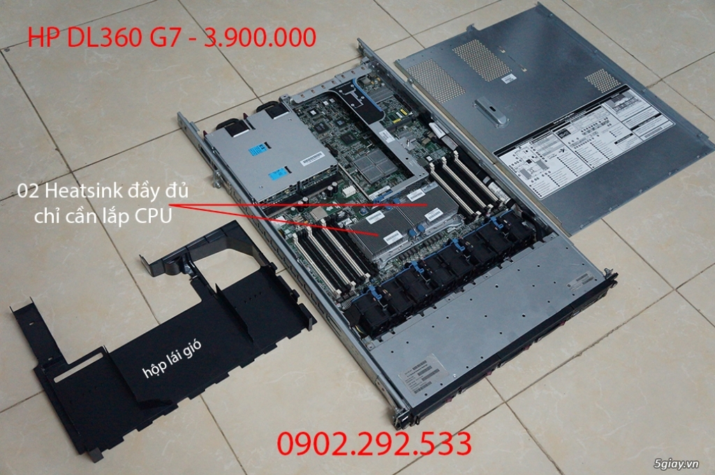 HP DL360 G7: best choice socket 1366 - 1