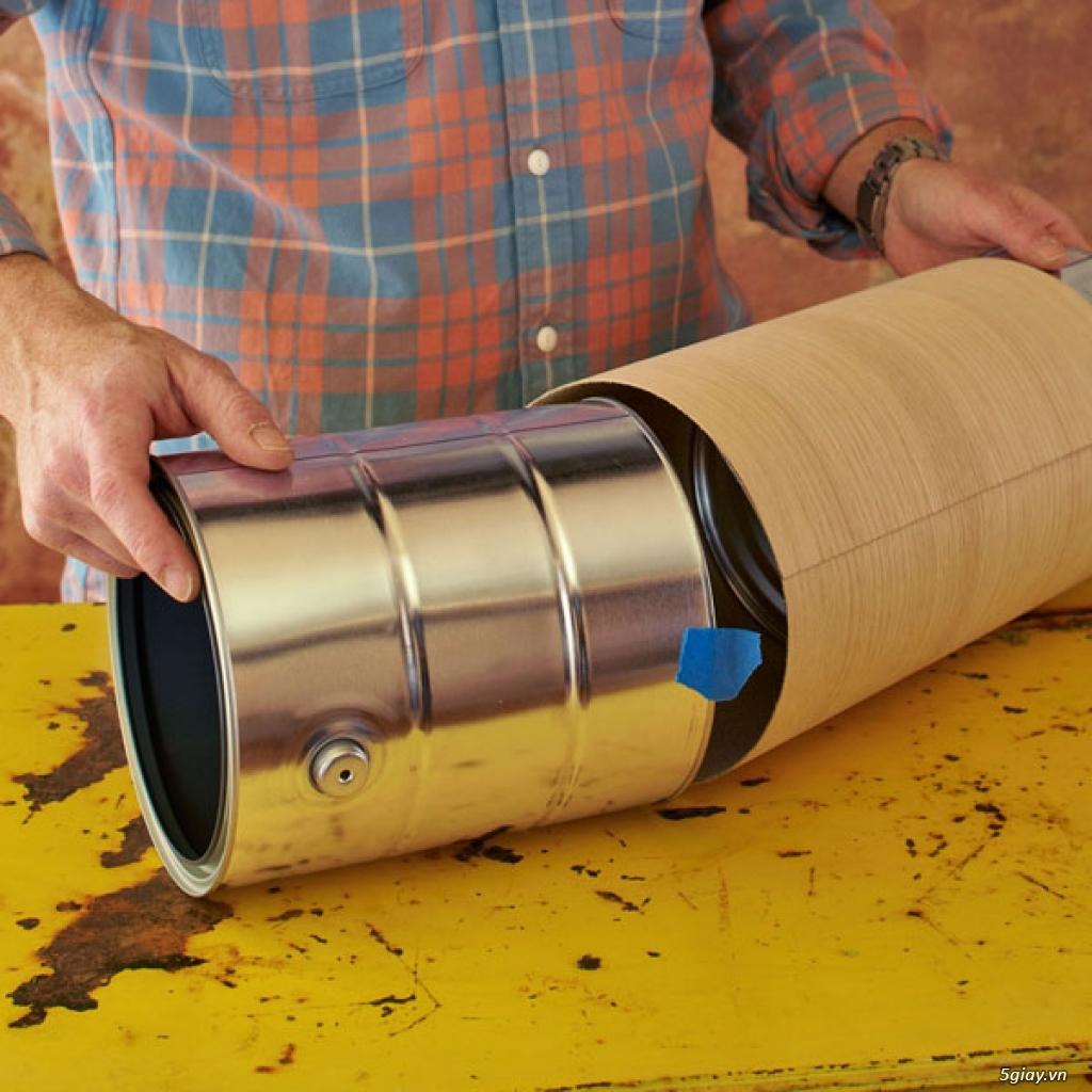 Cách làm đèn ống treo nhà sang chảnh - 211575
