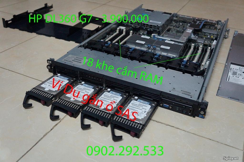HP DL360 G7: best choice socket 1366 - 4