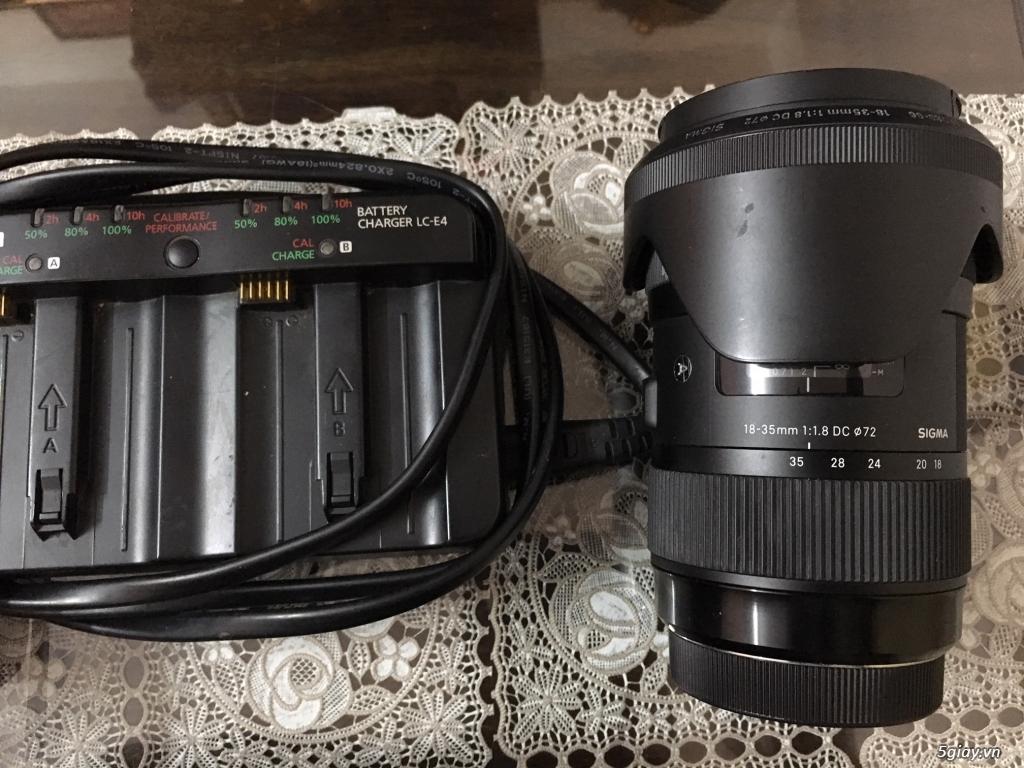 Cần bán: Nguyên bộ Canon Pro 1D3 - 2