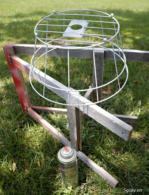 Cách làm đèn treo mộc mạc bằng dây thừng - 211741