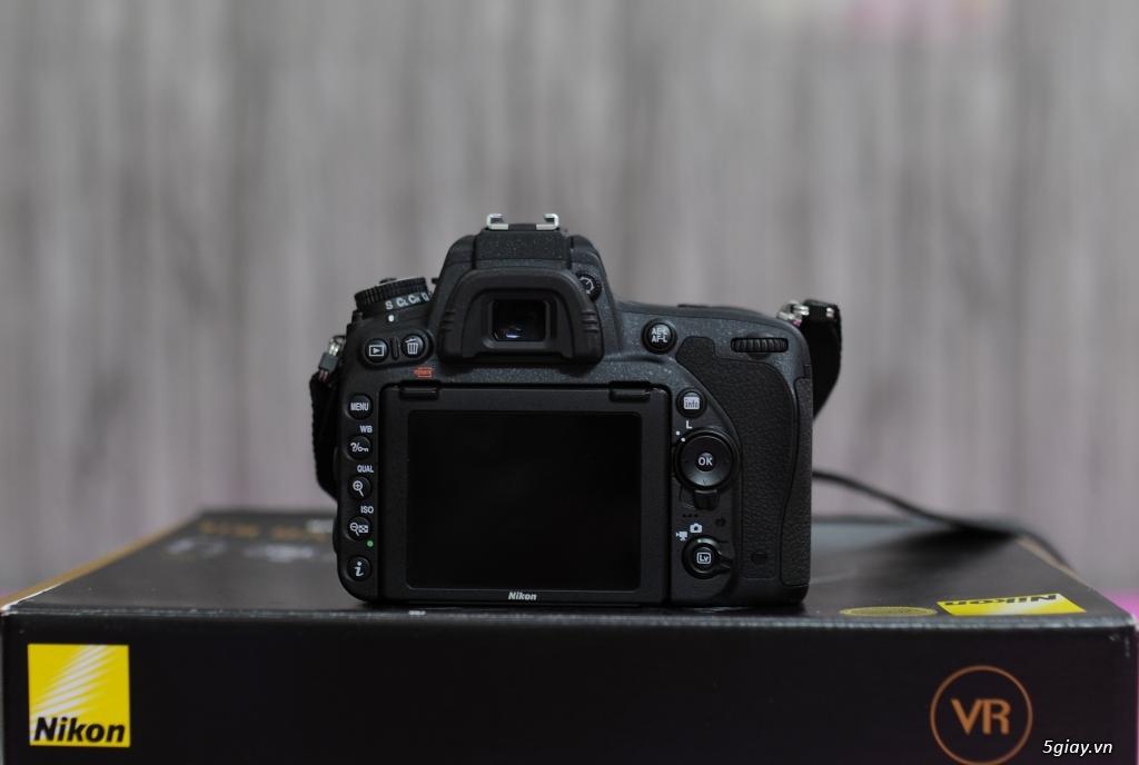 Nikon D750 fullbox còn bảo hành Khánh Long đến 31/07/2018 - 2