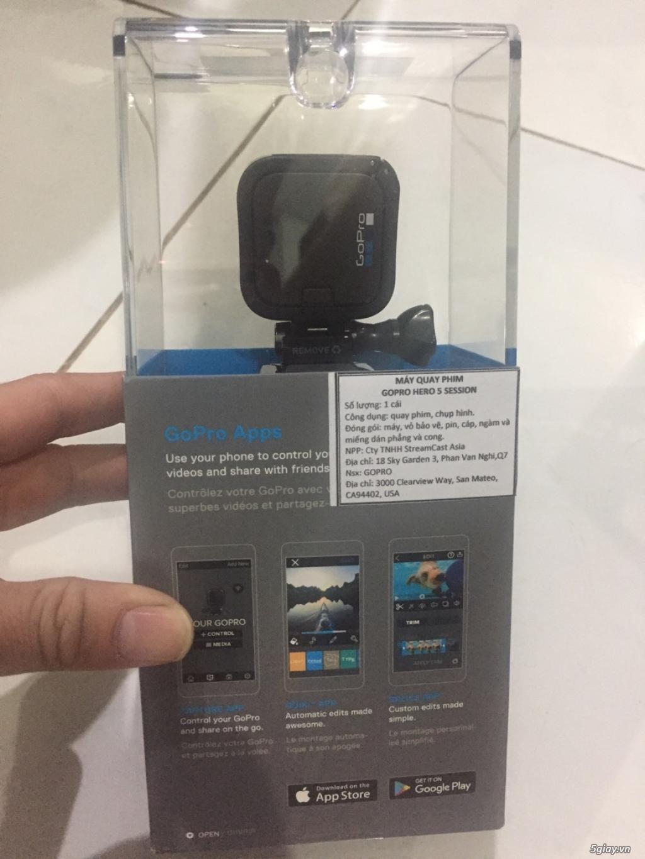 cần bán Camera Gopro Hero 5 Session và phụ kiện