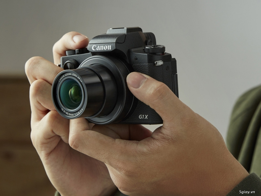 """Canon Powershot G1X Mark III có thêm phụ kiện """"lặn biển"""" 40m - 212529"""