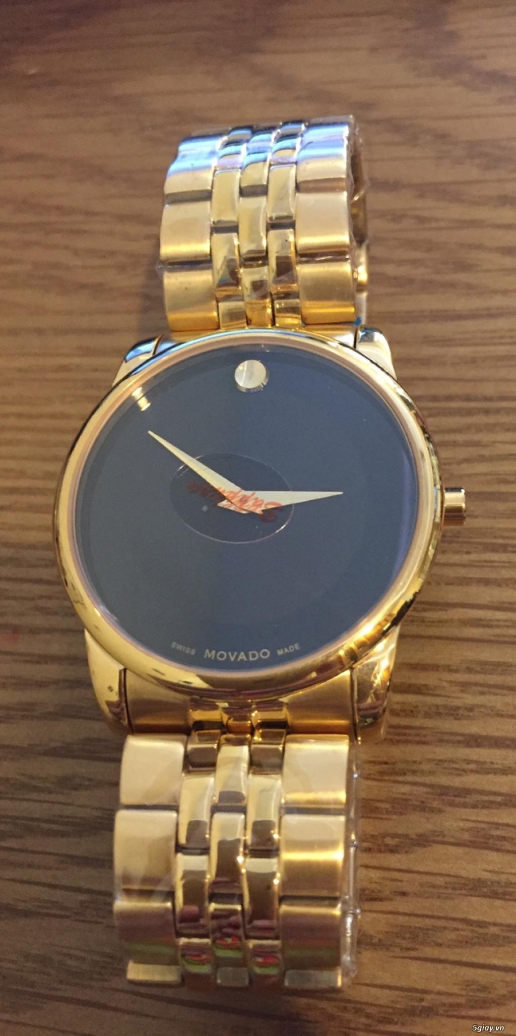 đồng hồ chính hãng xách tay các loại,mới 100%,có bảo hành - 3