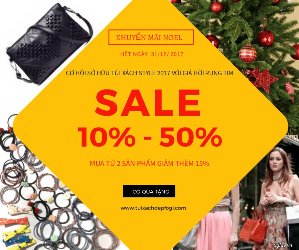 Cơ hội sở hữu túi xách ví balo style Hot với Gía Hời Rụng Tim mùa Noel