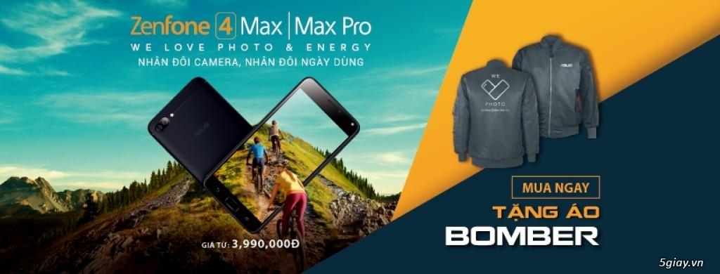 Ra mắt ASUS ZenFone 4 Max: pin 4 ngày, camera kép với giá 4 tr - 212531