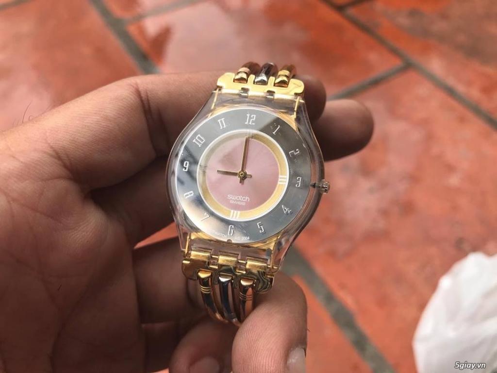 Đồng hồ mới 90% chính hãng Swatch , DW , seiko đẹp giá tốt cho anh em - 4
