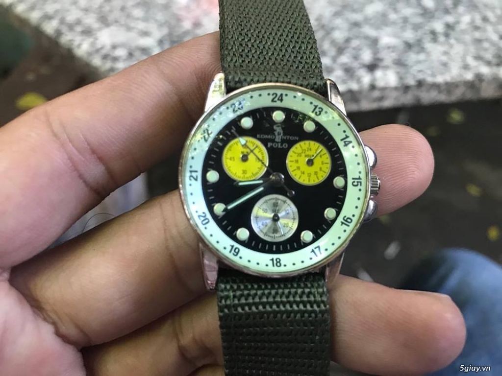 đồng hồ japan.  thụy sĩ giá tốt hàng chất mới 95% - 34
