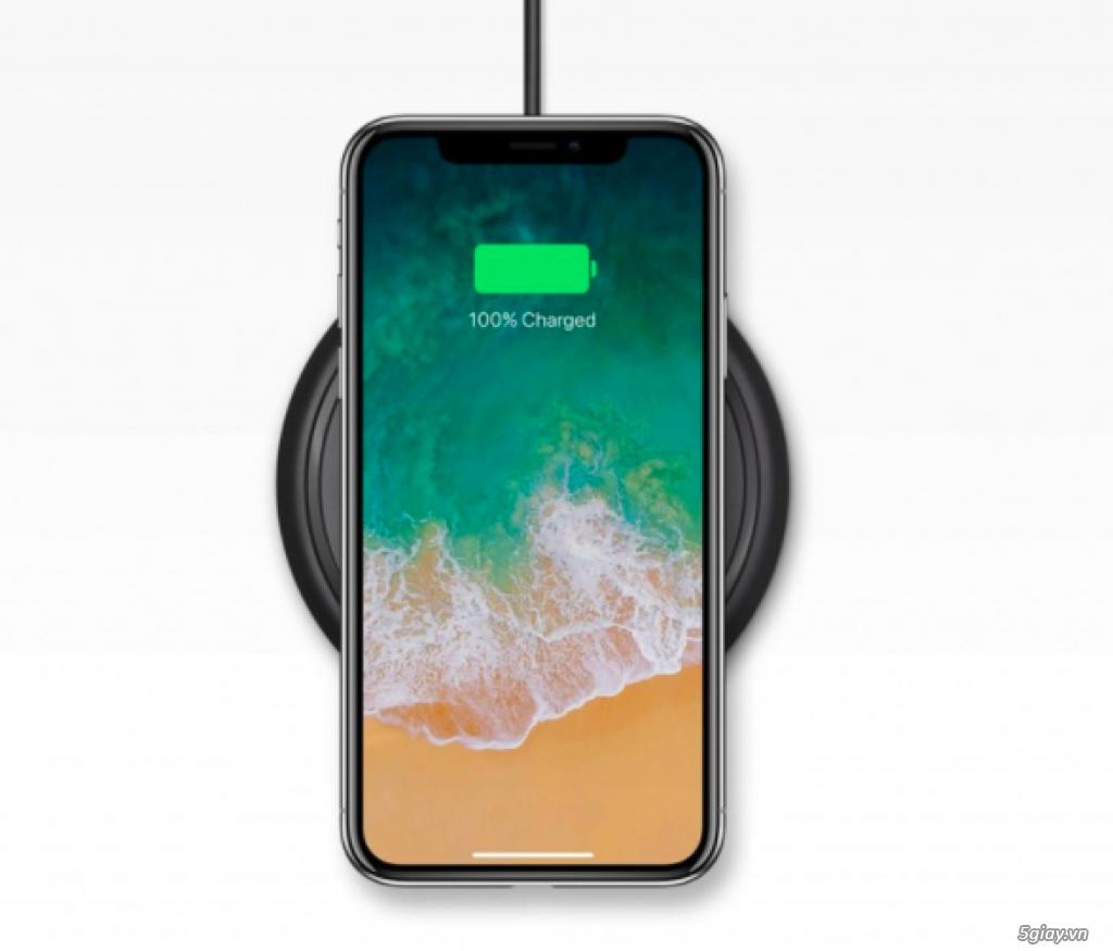 Đế sạc nhanh không dây Mophie cho iPhone X - 2