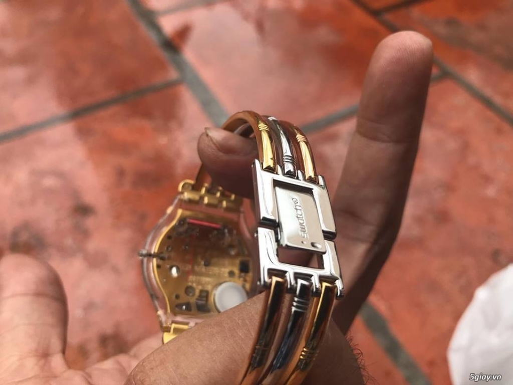 Đồng hồ mới 90% chính hãng Swatch , DW , seiko đẹp giá tốt cho anh em - 3