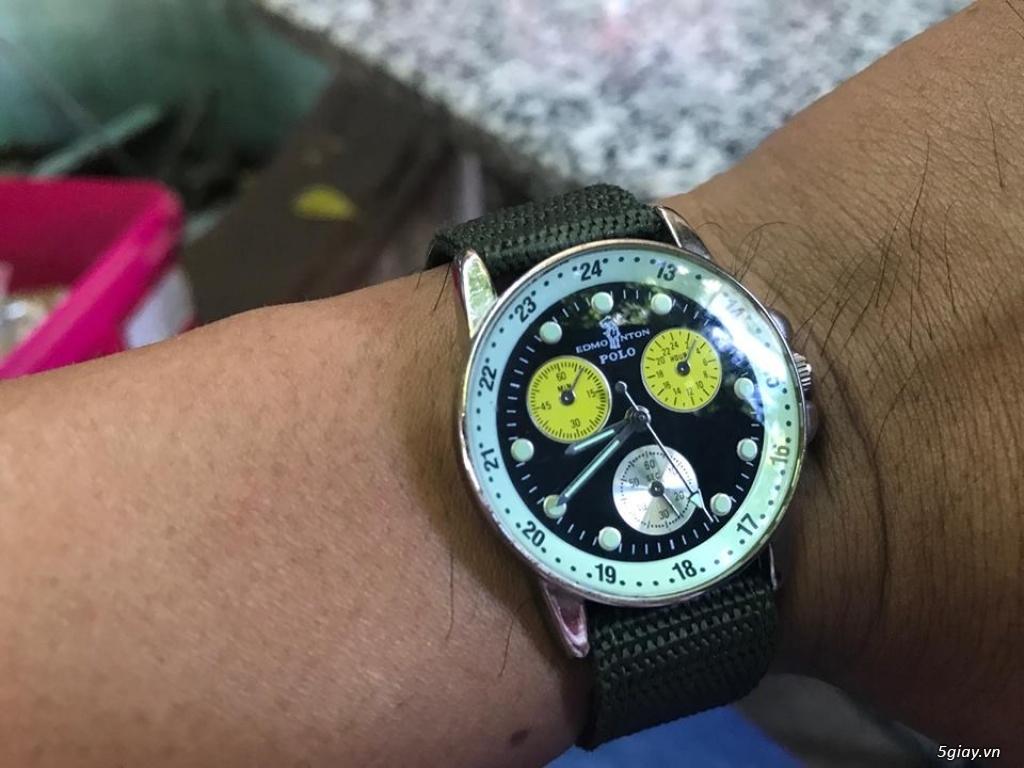 đồng hồ japan.  thụy sĩ giá tốt hàng chất mới 95% - 35