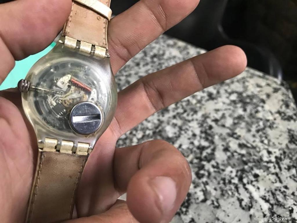 Đồng hồ mới 90% chính hãng Swatch , DW , seiko đẹp giá tốt cho anh em - 43