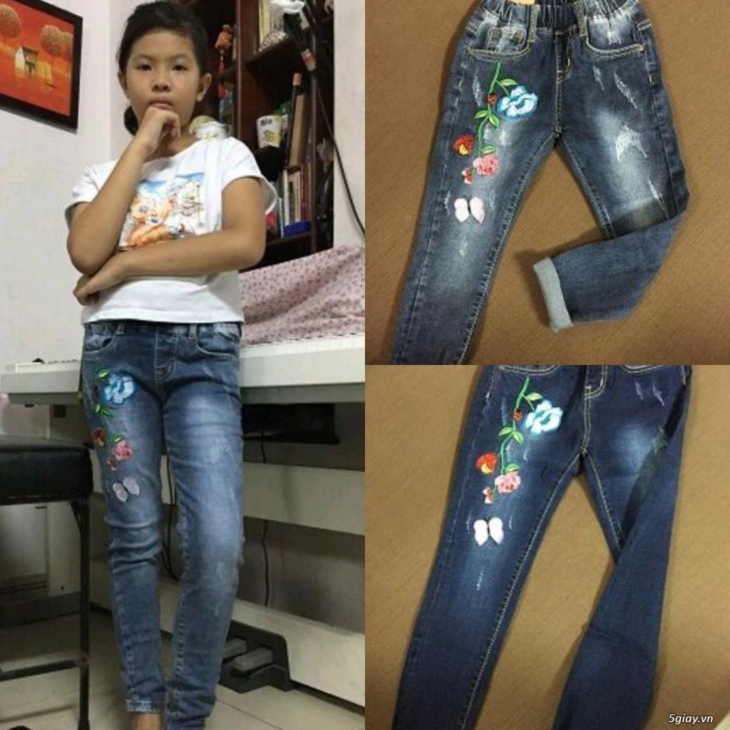 Quần jean trẻ em cao cấp madeinvietnam - 14