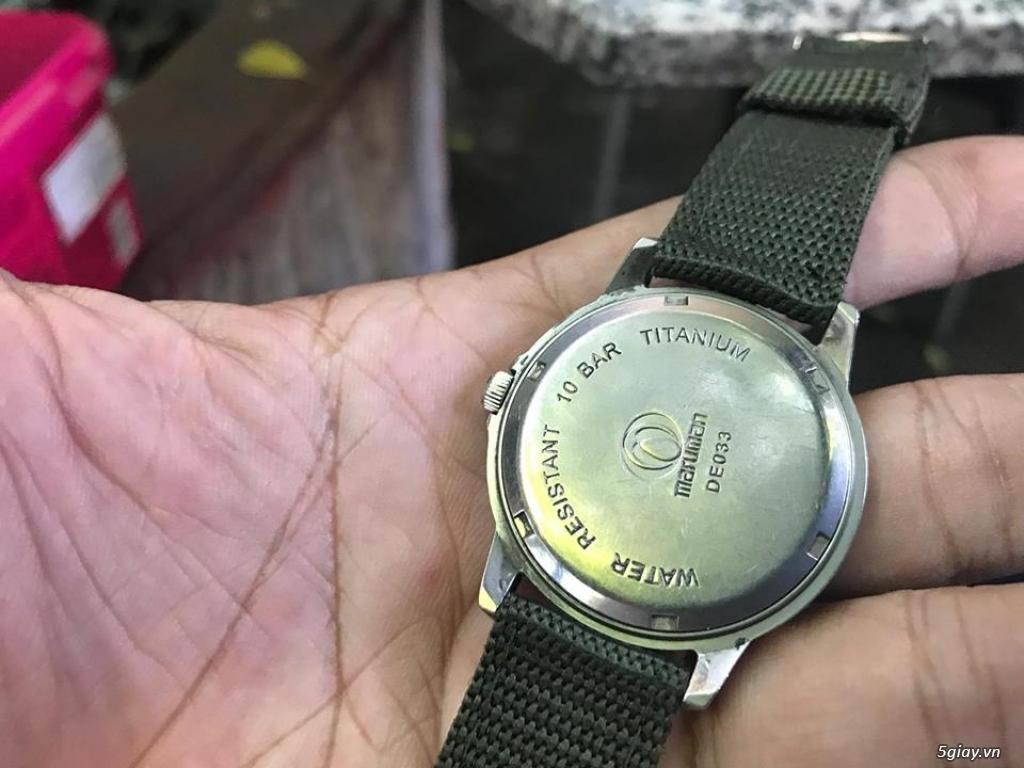 đồng hồ japan.  thụy sĩ giá tốt hàng chất mới 95% - 32