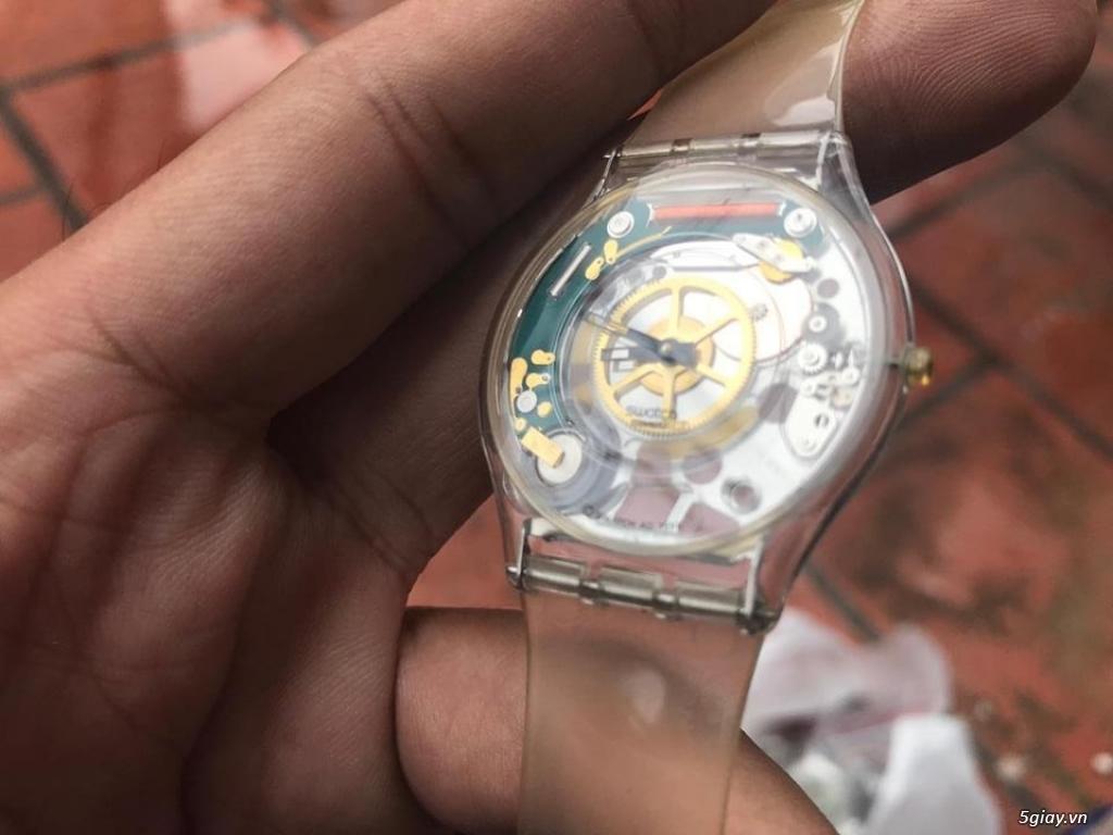 Đồng hồ mới 90% chính hãng Swatch , DW , seiko đẹp giá tốt cho anh em - 30