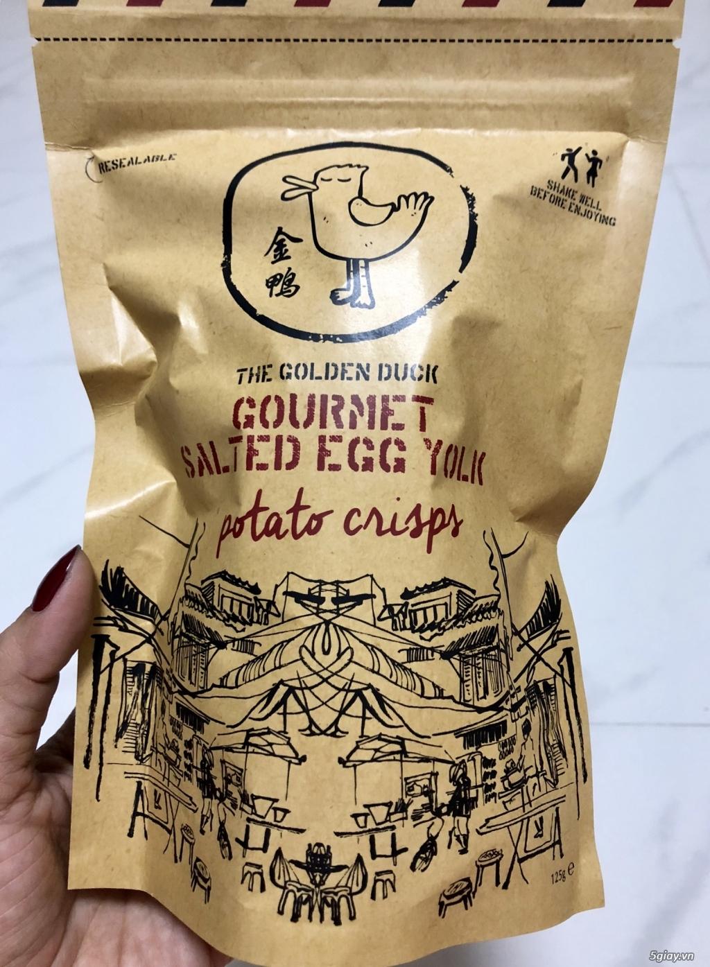 Da Cá Lắc Trứng Muối Singapore