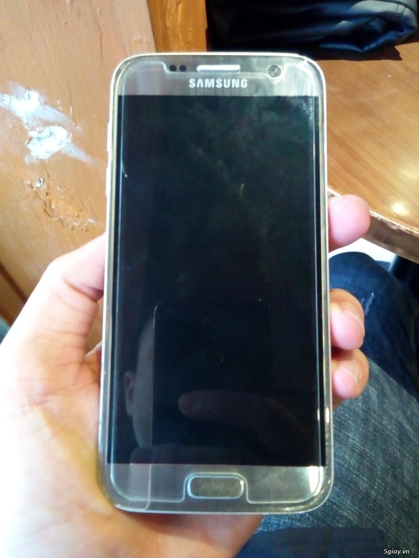 S7 32GB hàn quốc lên 2 sim màu bạc , 4tr7