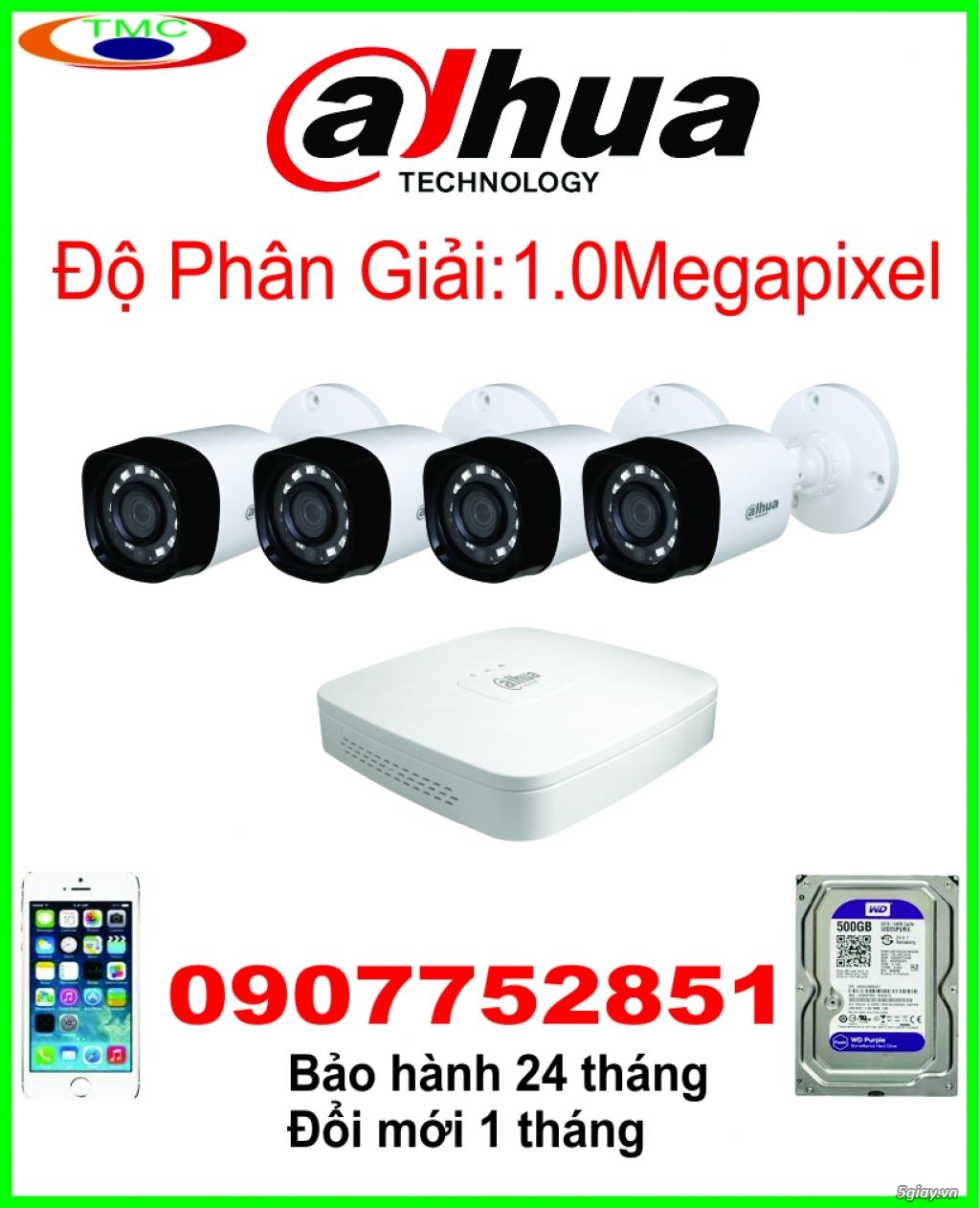 Bộ 4 camera quan sát chất lượng - uy tín - giá rẻ.