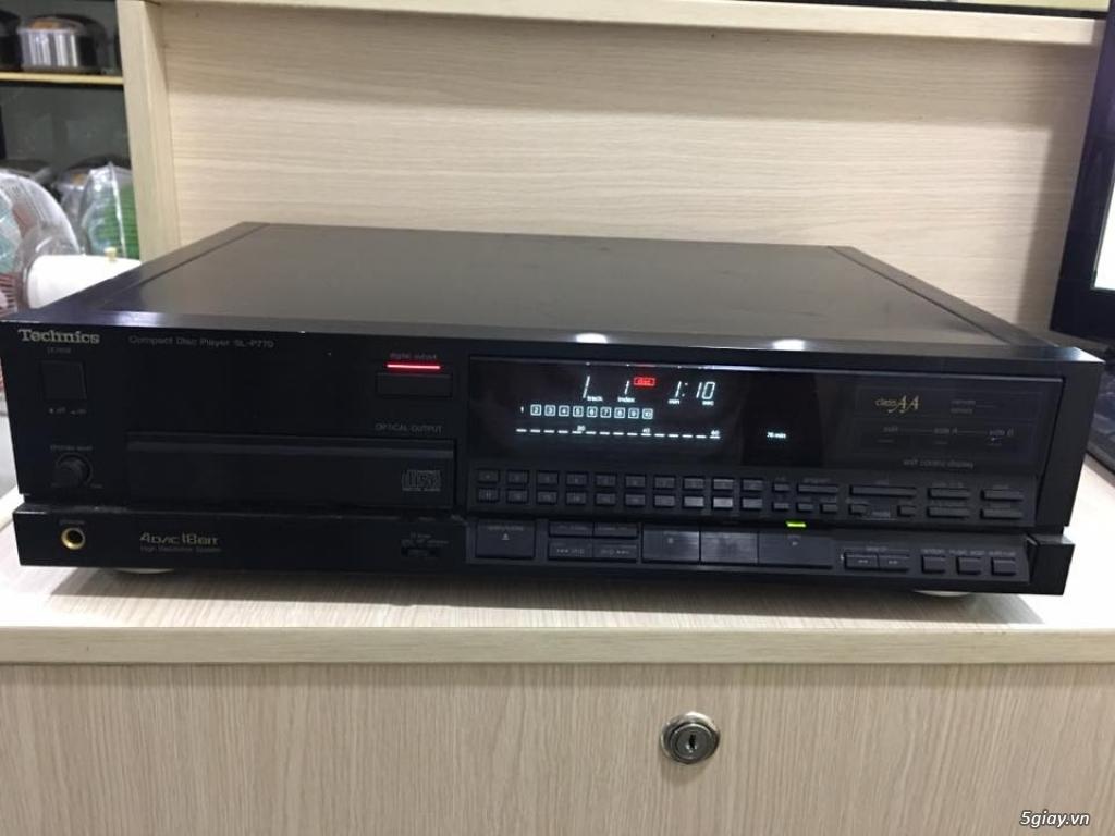 Đầu CD Technics SL-P770 . Made in Japan , zin nguyên bản 100%
