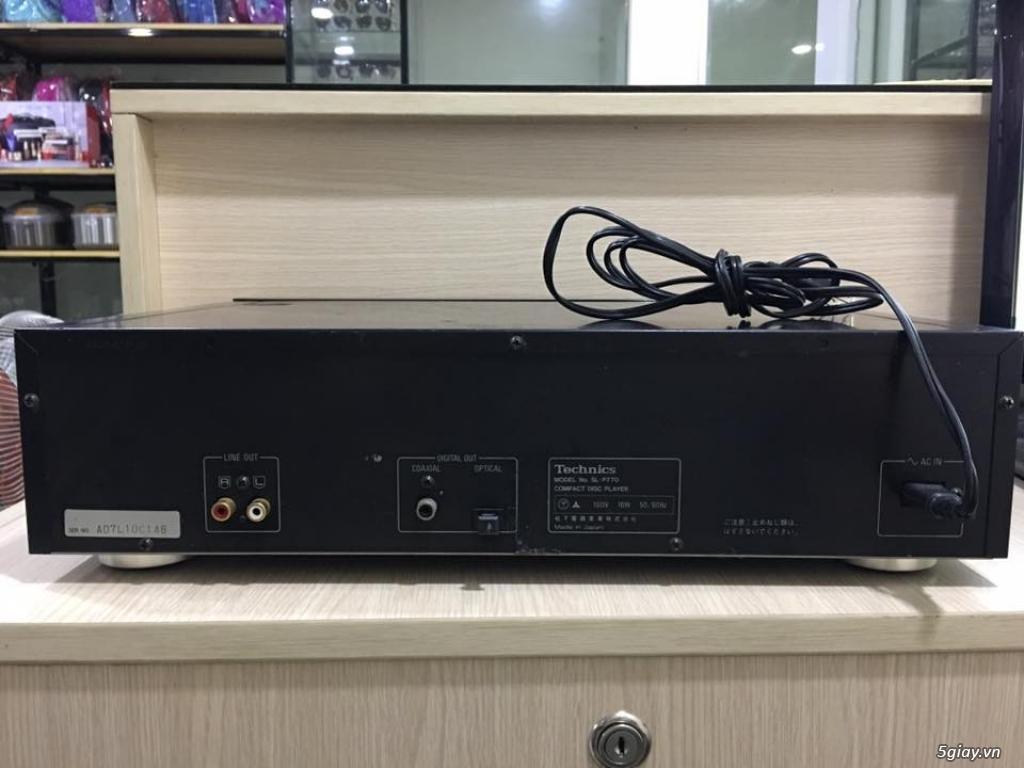 Đầu CD Technics SL-P770 . Made in Japan , zin nguyên bản 100% - 4