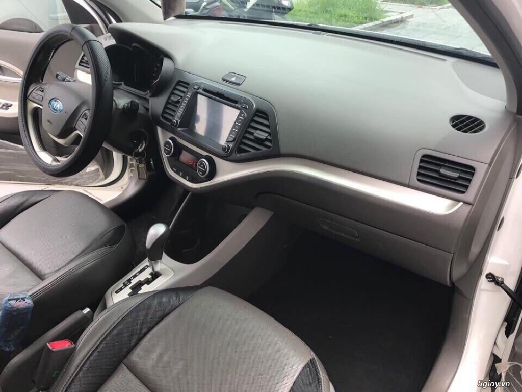 Mình bán Kia morning trắng 2014 tự động xe đẹp zin nguyên đi rất tuyệt