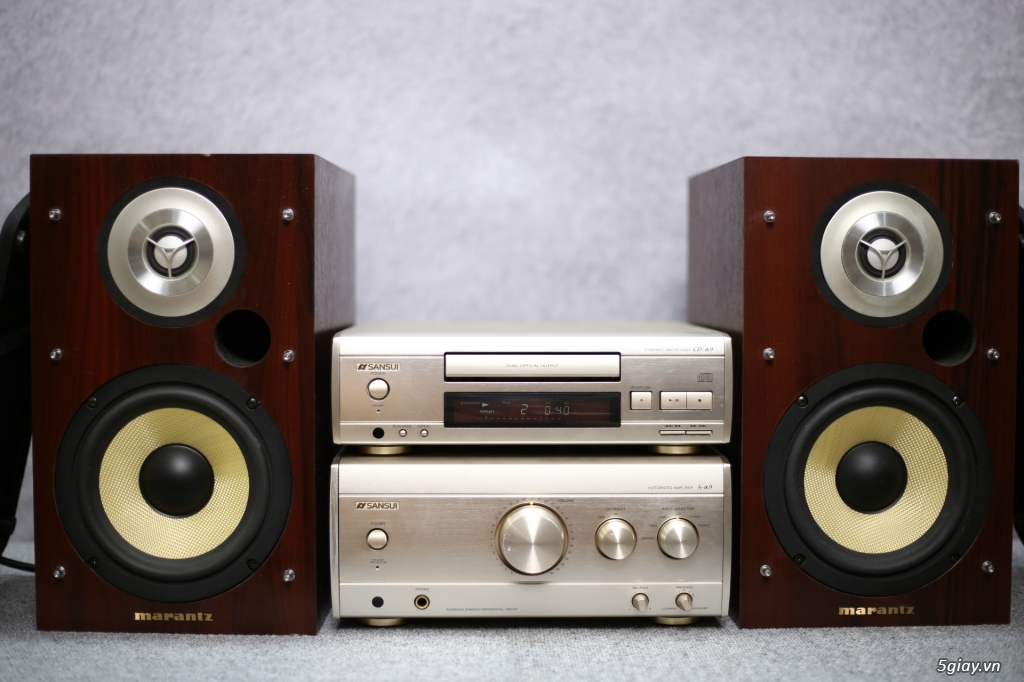 Máy nghe nhạc MINI Nhật đủ các hiệu: Denon, Onkyo, Pioneer, Sony, Sansui, Kenwood - 2