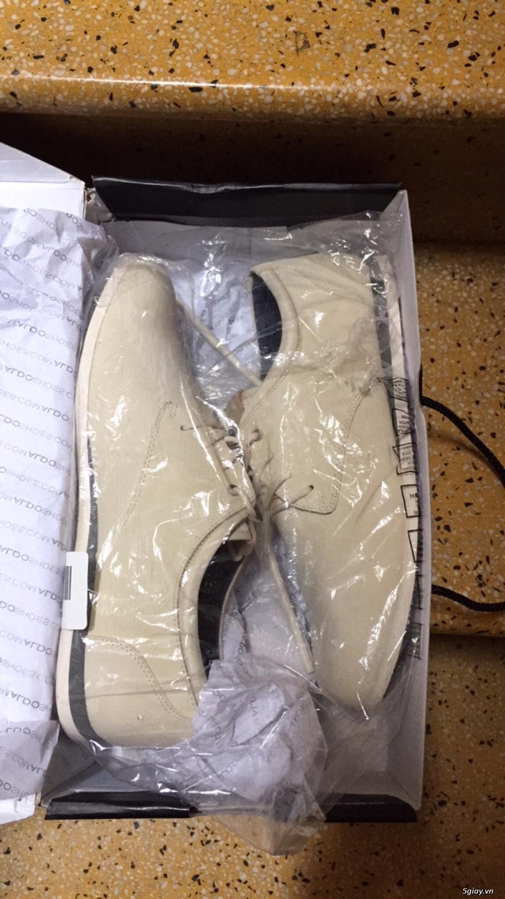 Cần bán 03 đôi giầy nam hiệu Aldo size US 7.5 xách tay USA - 4