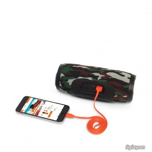Loa bluetooth JBL Charge 3 Special Edition(Rằn Ri) ,full box, mới 100% - 2