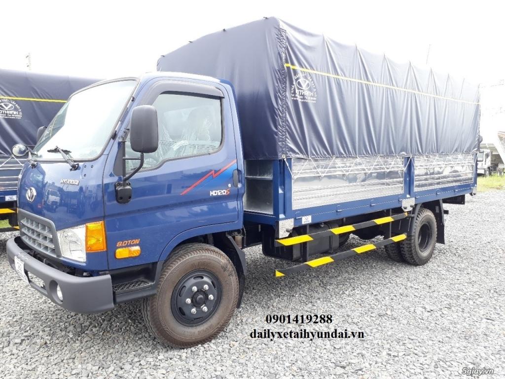 Hyundai HD120Sl Xe Tải 8 Tấn Thùng Kín Dài 6m2,  huyndai hd120sl,