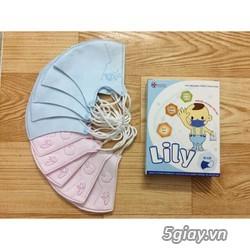 Khẩu Trang Nhật Em Bé Lily - 1