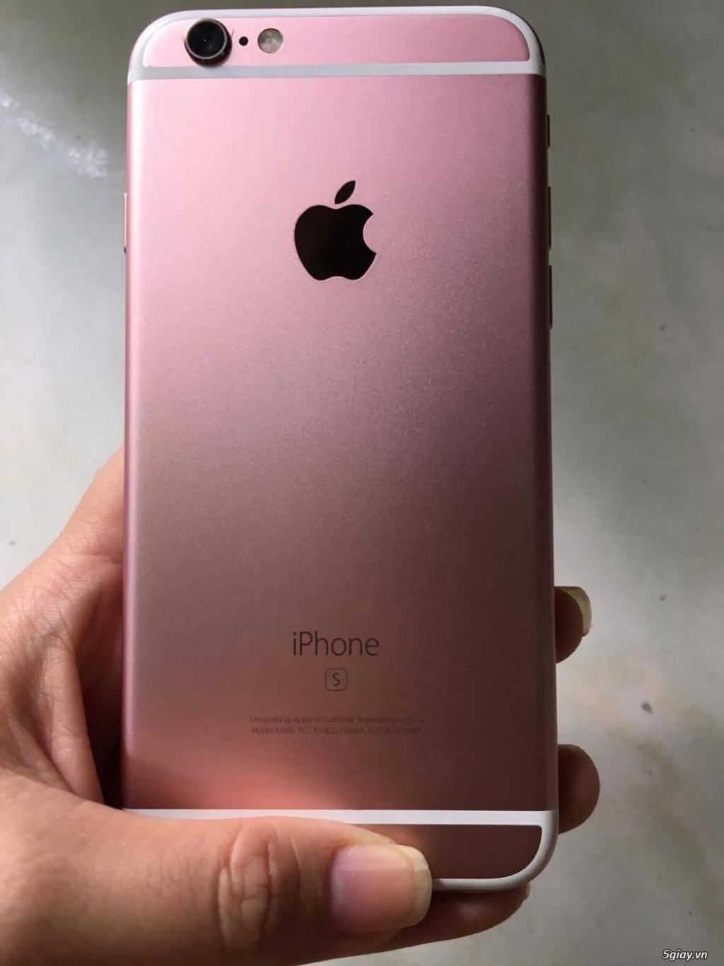 iPhone 6s 16Gb Hồng hàng Châu Âu máy đẹp 99% Fullbox!!!